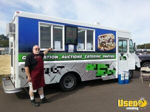 Turnkey 2003 Workhorse P30 23' Stepvan Mobile Kitchen Food Truck for Sale in Wisconsin!