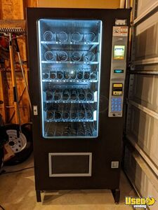 Used 2012 AMS Sensit 3 Refrigerated Combo Snack & Soda Vending Machines for Sale in Kansas!