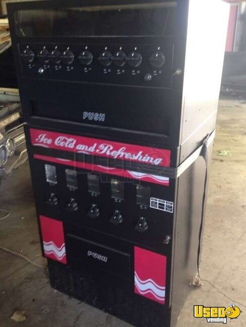 Used Mechanical Snack Soda Combo Vending Machine For