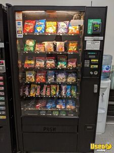 Automatic Products AP 123 Electronic Glassfront Snack Vending Machine for Sale in California!