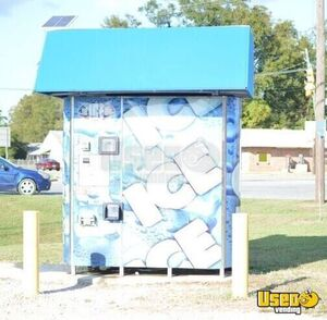 2016 Ice Depot Commercial Bagged Bulk Cooler Ice Vending Machine Kiosk for Sale in Alabama!