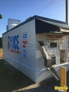 Commercial Twice the Ice Bagged & Bulk Ice Vending Machine Kiosk for Sale in Georgia!