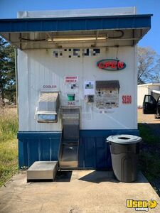 Used Bagged and Bulk Ice Vending Machine Drive Up Ice House Kiosk for Sale in Louisiana!