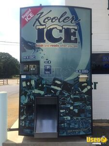2011 Kooler Ice Bagged Ice Vending Machine for Sale in Louisiana!