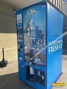 Everest VX#3 Bagged Ice & Water Vending Machine Commercial Ice Vending Kiosk for Sale in Louisiana!