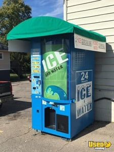 2012 Commercial Bagged Ice and Water Vending Machines /  Kiosks for Sale in Ohio!!!