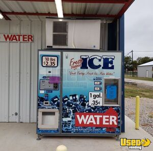 2017 Kooler Bagged Ice & Water Vending Machine / Kiosk for Sale in Texas!