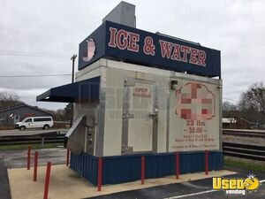 2013 Commercial Drive Up Just-Ice Bagged Ice and Water Kiosk Vending Machine for Sale in Texas!