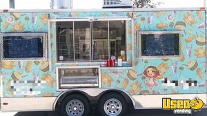 Fully Equipped 2017 8.6' x 16' Bakery and Kitchen Food Trailer for Sale in Florida!