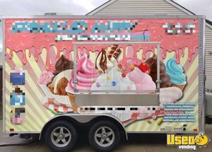 Lightly Used 2019 United 7' x 14' Bakery Concession Trailer / Mobile Food Unit for Sale in Ohio!
