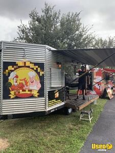 Barbecue Concession Trailer Barbecue Food Trailer Awning Florida for Sale