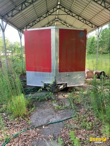Barbecue Concession Trailer Barbecue Food Trailer Cabinets Texas for Sale - 3