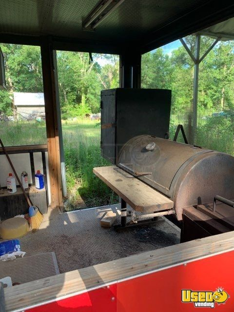 Barbecue Concession Trailer Barbecue Food Trailer Cash Register Texas for Sale