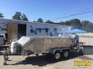 Barbecue Concession Trailer Barbecue Food Trailer Deep Freezer Georgia for Sale