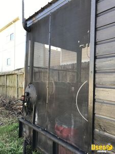 Barbecue Concession Trailer Barbecue Food Trailer Exterior Customer Counter Texas for Sale