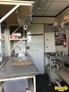 Barbecue Concession Trailer Barbecue Food Trailer Fire Extinguisher Texas for Sale
