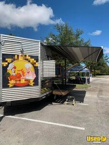 Barbecue Concession Trailer Barbecue Food Trailer Upright Freezer Florida for Sale