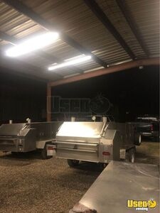 Barbecue Concession Trailer Barbecue Food Trailer Work Table Georgia for Sale