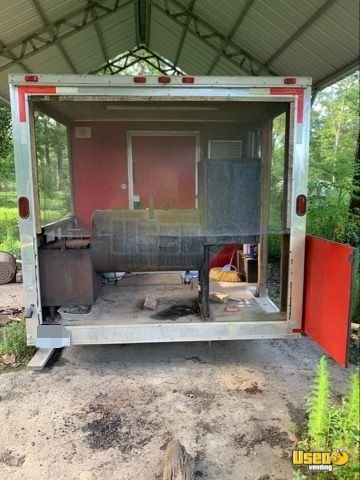 Barbecue Concession Trailer Barbecue Food Trailer Work Table Texas for Sale