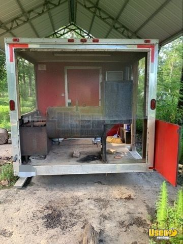 Barbecue Concession Trailer Barbecue Food Trailer Work Table Texas for Sale - 7