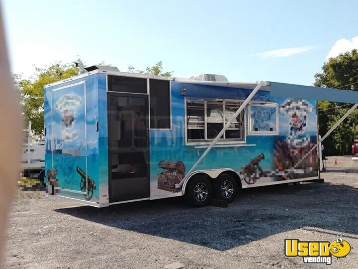 Barbecue Food Trailer Air Conditioning Florida for Sale - 2