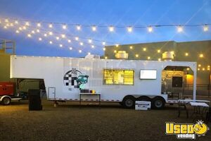 Fully-Loaded 2012 Lee LT-46 Barbecue Concession Trailer / Used BBQ Rig w/ Porch for Sale in Arizona!