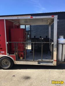 Barbecue Food Trailer Awning North Carolina for Sale