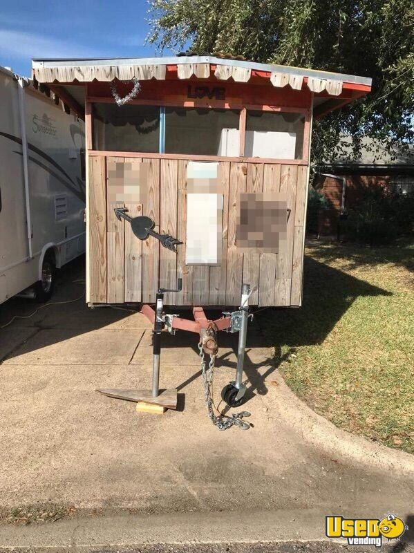 Barbecue Food Trailer Awning Texas for Sale - 3