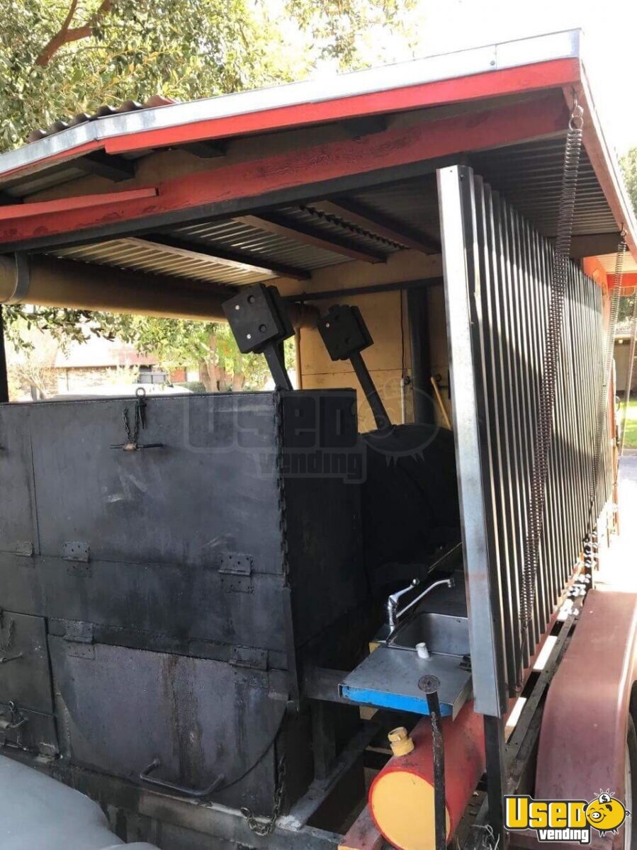 Barbecue Food Trailer Bbq Smoker Texas for Sale - 5