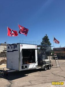 Ready to Grill Barbecue Concession Tailgating Trailer with Porch for Sale in Colorado!!