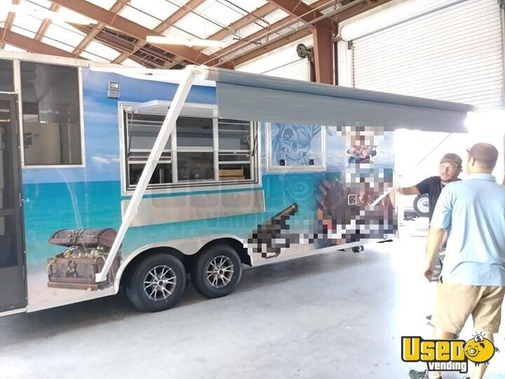 Barbecue Food Trailer Concession Window Florida for Sale - 3