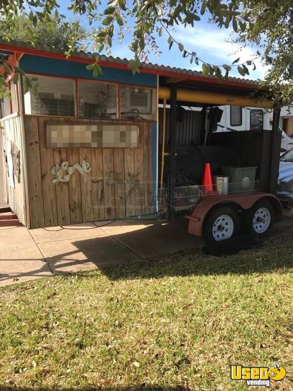 Barbecue Food Trailer Concession Window Texas for Sale - 2
