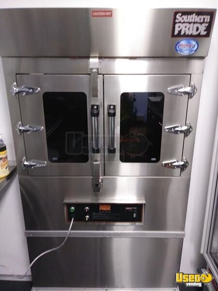 Barbecue Food Trailer Exterior Customer Counter Florida for Sale - 6