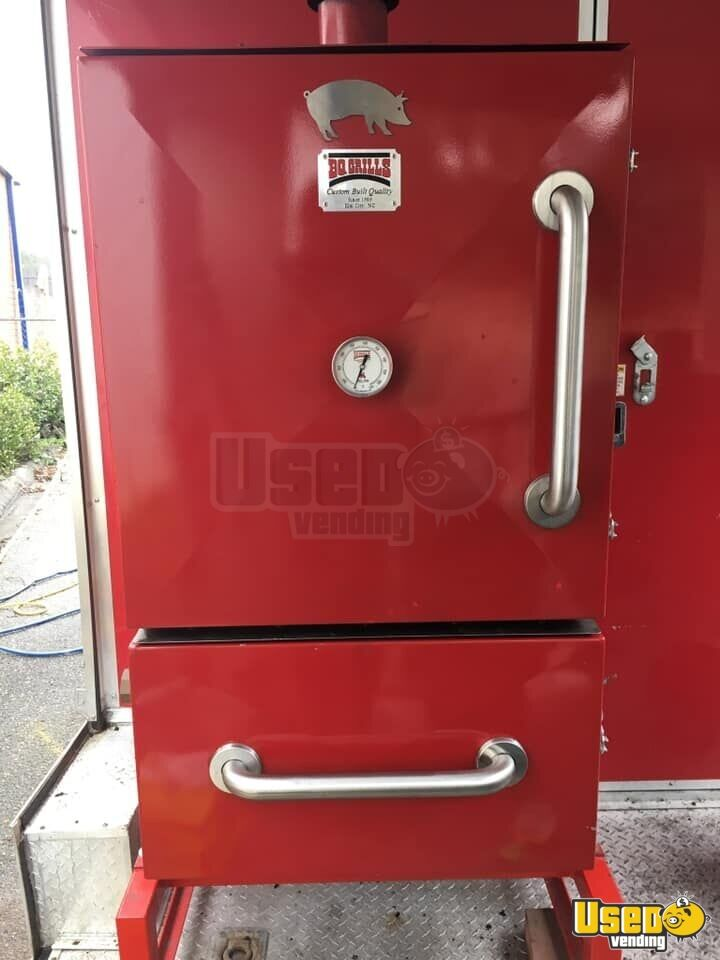 Barbecue Food Trailer Exterior Customer Counter North Carolina for Sale - 4