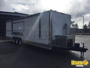 2018 - 8.5' x 35' BBQ Concession Trailer Mobile Kitchen for Sale in Florida!!!