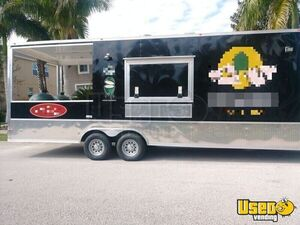 Super Neat 2019 Cynergy 10' x 31' Barbecue Food Trailer with Porch for Sale in Florida!