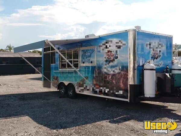 Barbecue Food Trailer Florida for Sale