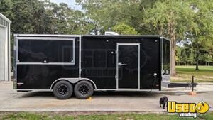 Used 2018 Custom-Built Barbecue Concession Trailer w/ Porch for Sale in Georgia!