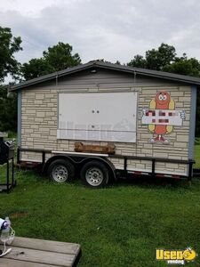 2016 6' x 12' Barbecue Concession Trailer/Mobile Barbeque Unit in Great Shape for Sale in Kentucky!