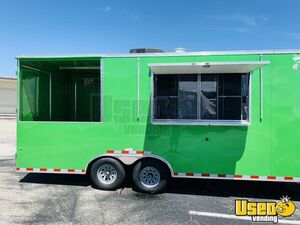 2018 - 8' x 22' BBQ Concession Trailer / Mobile Kitchen with Porch for Sale in New Jersey!