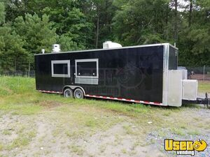 2016 - 8' x 30'  BBQ Concession Trailer for Sale in North Carolina!!!