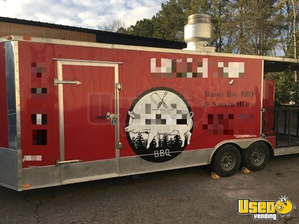 Barbecue Food Trailer North Carolina for Sale