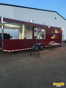2016 - 32' Turnkey BBQ Concession Trailer with Porch for Sale in North Dakota!!!