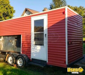 Custom Built BBQ Food Concession Trailer / Barbecue Pit for Sale in Ohio- Unique DIY Project!