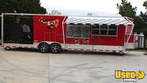 2014 Freedom Trailers 8.5' x 30' Barbecue Food Trailer/Mobile Food Unit for Sale in Oklahoma!