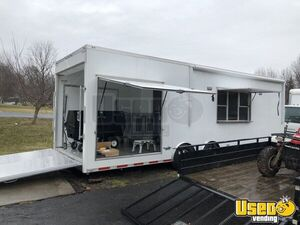 2017 - 8.5' x 28' ATC BBQ Trailer with 2008 Isuzu Truck and Additional Trailer for Sale in Pennsylvania!