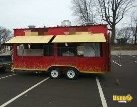 All Stainless-Steel 2014 8' X 22' BBQ Food Concession Trailer w/ Pro-Fire for Sale in Pennsylvania!