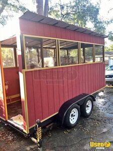 2016 - 7' x 14' BBQ Concession Trailer for Sale in South Carolina!!!