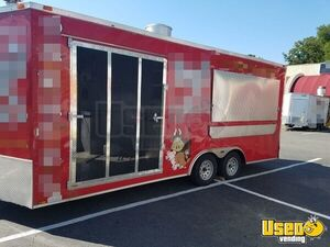 2015 - 8' x 20' BBQ Concession Trailer for Sale in South Carolina!!!