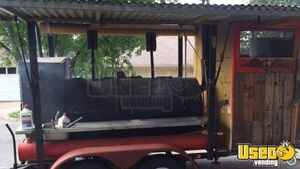 Barbecue Food Trailer Steam Table Texas for Sale
